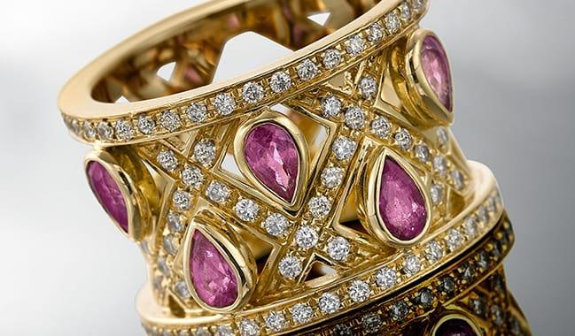 Bespoke occasions jewellery by Silks of London Jewellery
